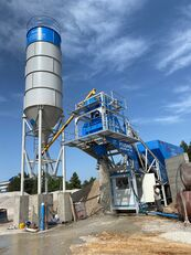 جديد ماكينة صناعة الخرسانة Plusmix 60m³/Hour MOBILE Concrete Plant - BETONNYY ZAVOD