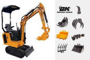 جديد حفارة صغيرة BERGER KRAUS Mini Excavator BK800BS torsion arm with FULL equipment