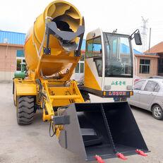 جديد حفارة ذات العجلات LUZUN selfloading concrete mixer
