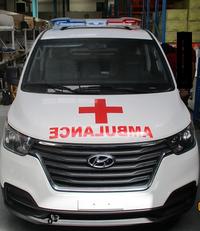 جديد الميكروباصات سيارة الإسعاف HYUNDAI H1 Petrol