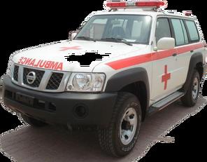 جديد الميكروباصات سيارة الإسعاف NISSAN Patrol 4.0 XE AT