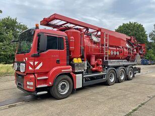 ماكينة تنظيف المجاري MAN TGS 35.540 8x4 Kaiser WRG ADR 19.500